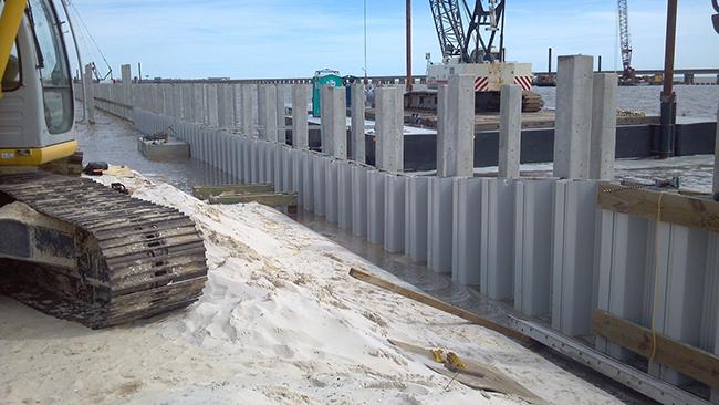 Kunststof Damwand voor Rendabele Construction