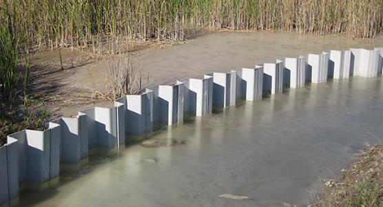 Design Cut Off en Containment Damwand Walls